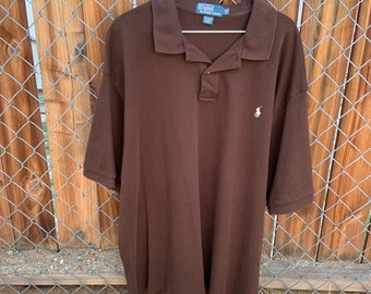Vintage Polo by Ralph Lauren polo shirt in vintage condition size 2 Xl large  Free Shipping