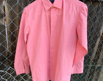 Vintage Chaps by Ralph Lauren youth large button down dress shirt. Great vintage condition includes Free Shipping