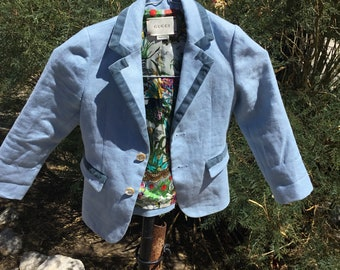 Gucci Youth Sports Coat blazer size 4 in amazing shape. Free shipping in the USA