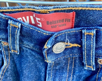 Levi's 550 jeans. Brand new deadstock Size 29 by 27. Free Priority Mail Shipping in the USA
