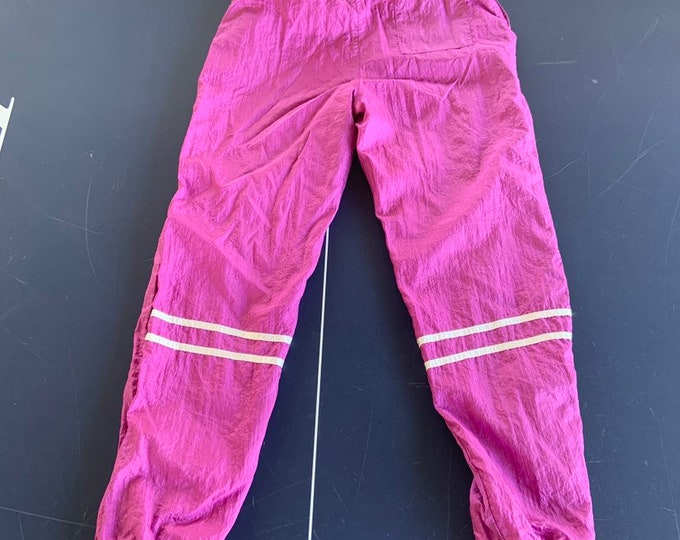 Vintage 1980s Sergio Tacchini track pants, leisure suit. Free shipping