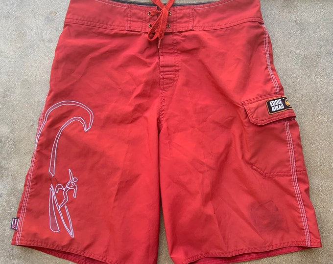 Men's Vintage Eddie Aikau Swim Athletic shorts. Free Shipping