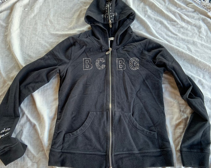 BCBGenerarion vintage zip up hoodie. In great shape womens size medium.  Free shipping