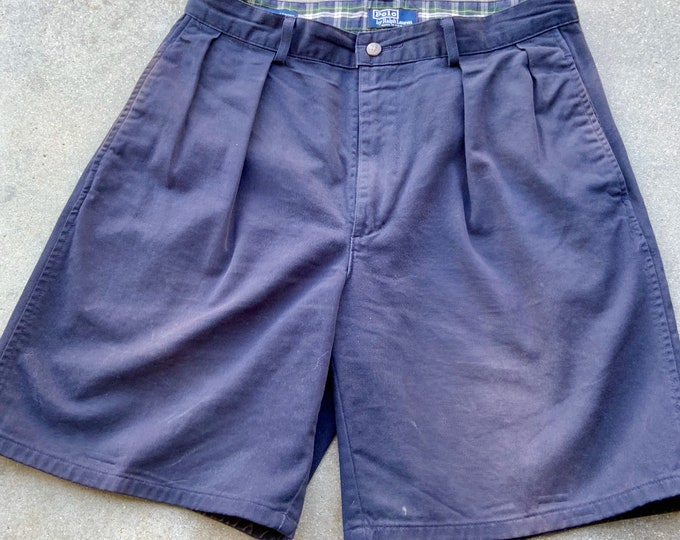Vintage OG Polo by Ralph Lauren Tyler shorts 32 waist. Extra thick cotton.  The Classic Golf Short. Free Priority Mail Shipping