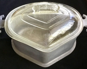 Gaurdian Service Aluminum Roasting Pan with cool glass lid. Great shape. Free shipping