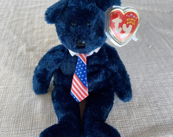 Pops 2002 Fathers Day Beanie Baby in excellent condition. Free shipping