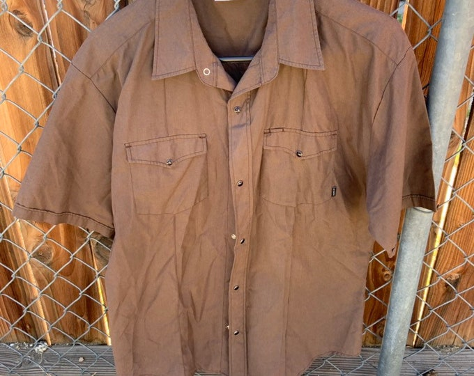 Hurley single stitch pearl snap western button down shirt. Free shipping