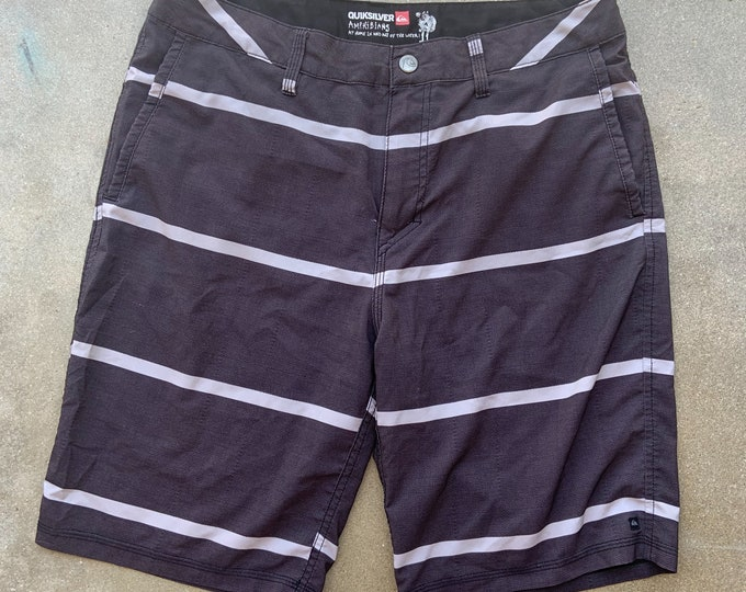 Men's Quicksilver Amphibians Athletic Swim/Street wear shorts. Free Shipping