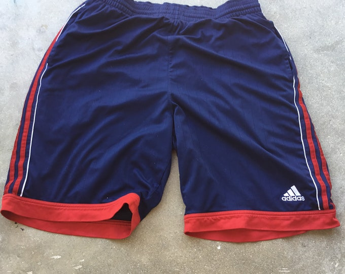 Men's Adidas Athletic, Double Lined shorts in great shape. Free Shipping