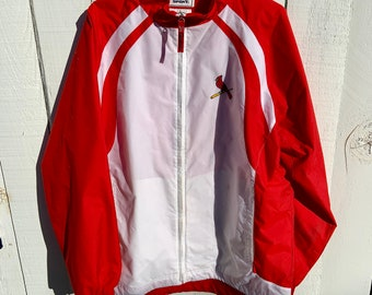 St Louis Cardinals Baseball Windbreaker. Made by Lee. Free shipping in the USA