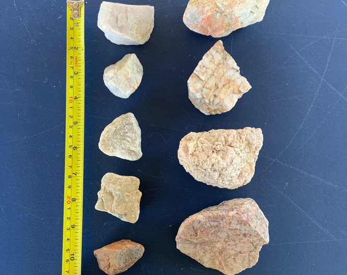Wholesale Lot of Quartz Crystal Rocks collected from Joshua Tree California and surrounding areas