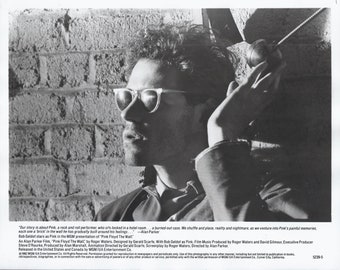 Original Pink Floyd The Wall Movie Promo 8 by 10 Black and White Photo from Press Pack released by MGM to magazines etc for publication 1982