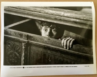 Original Goonies Movie Promo Black and White Photo 8x10 from Press Pack released by Warner Brothers to magazines etc for publication 1985