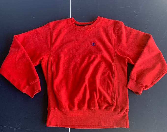 Vintage 1990s Champion Pullover sweat shirt. Free shipping