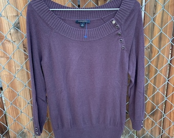 Banana Republic off the shoulder sweater. Free shipping
