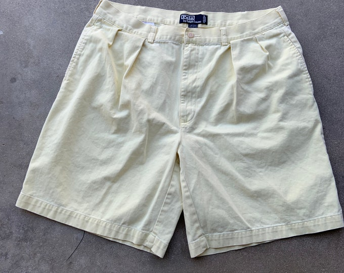 Super clean Polo by Ralph Lauren Tyler shorts 38 waist. Polo chino shorts. Free Priority Mail Shipping