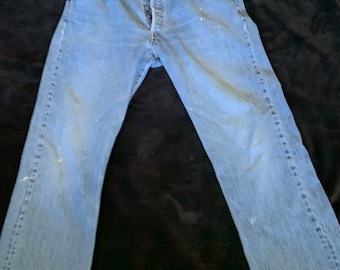Levi's 501 Broken in Jeans. Very cool soft and comfortable. Size 36 x 34 Free Priority Mail Shipping in the USA