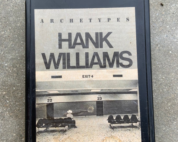 Hank Williams 1974 Archetypes 8 track tape in good shape. Free shipping