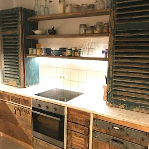 Cucina Vintage Shabby Chic Retro Casa Di Campagna Bauhaus Etsy
