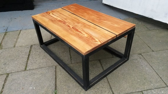 Couchtisch Altholz Pitch Pine Etsy
