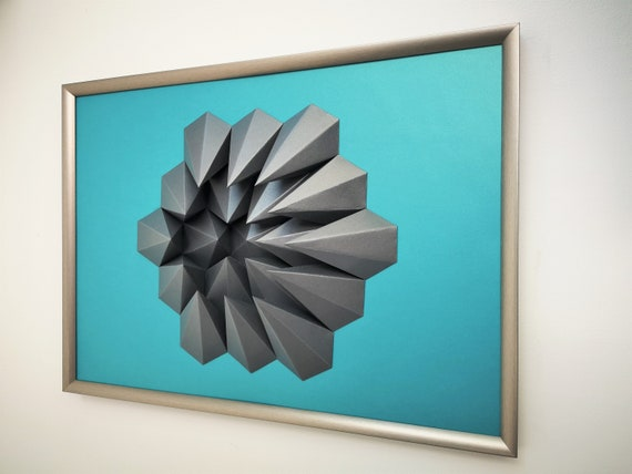 Wall Art Origami Gravity