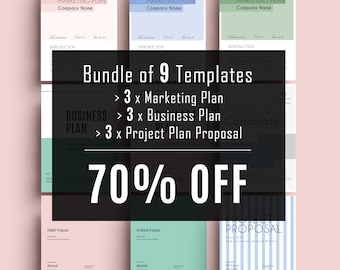 proposal template etsy