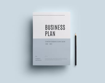 Business plan template | Etsy