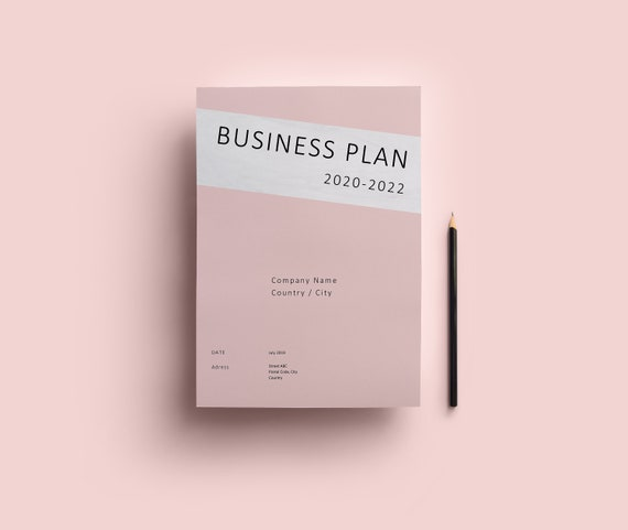 Business Plan Template Small Business Start Up Word Project Plan Instant Download Adjustable Investor Plan Marketing Plan