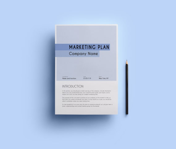 Template For Marketing Plan Small Business Start Up Template Investor Plan Business Plan Mandatory Sections Budget Financial