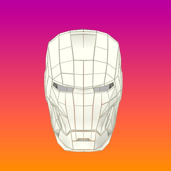 Iron Man Helmet Pepakura Pdf