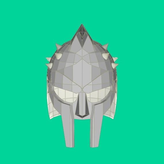 Gladiator papercraft/Paper model/3d gladiator model/Gladiator helmet/3d  origami/DIY papercraft/Origami/3d papercraft/Gladiator sculpture