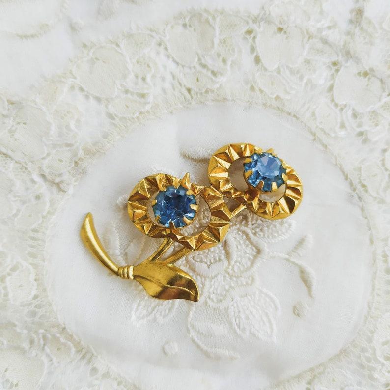 Vintage Flower Brooch Vintage soviet brooch
