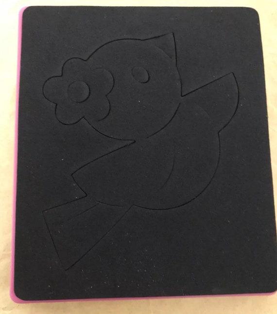 Bonjour kitty dies Kitty Sizzix Hello Kitty dies petit oiseau Rare coupe papier feutre cuir Scrapbooking carte faisant livre tissu faisant Kawai 312f85