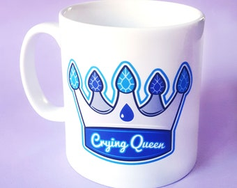 Crying Queen 10oz Ceramic Mug