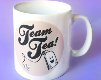 Team Tea 10oz Ceramic Mug