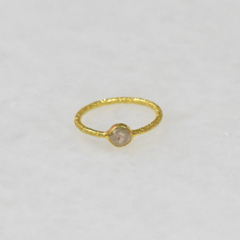 New Solid 18K Yellow Gold Wedding Engagement Cocktail Ring Natural Diamond Promise Anniversary Gift Party Wear Ring Jewelry JayporeCreations