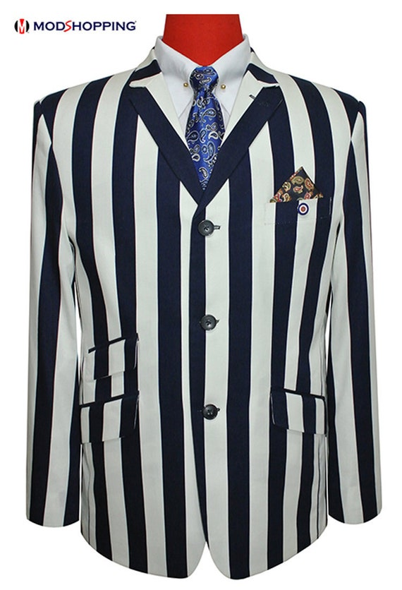 1920s Men's Fashion UK | Peaky Blinders Clothing Boating jacket| Dark navy blue boating jacket for man $189.97 AT vintagedancer.com