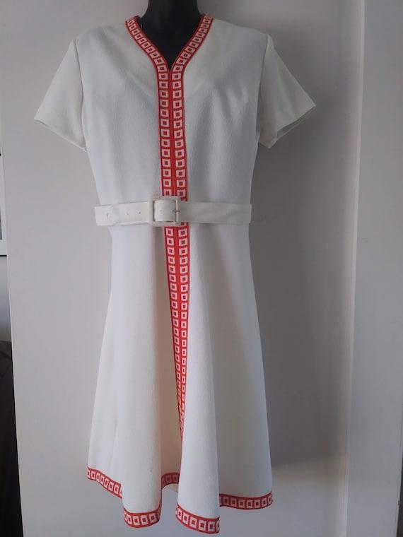 Unique Rare 60s Dress, Womens Dress, Knit, Elegant