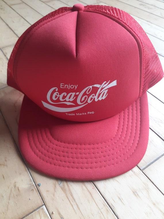 80's Coca Cola Snapback Hat, Cap, Ballcap