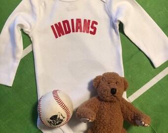173597c4 Cleveland Indians Onesie