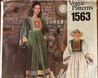Vintage Vogue Pattern 1563