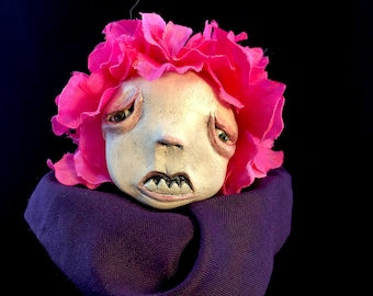 LuLu, OOAK art doll