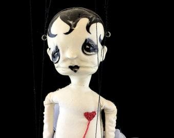Marion, OOAK marionette