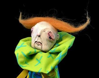 Chester, OOAK art doll