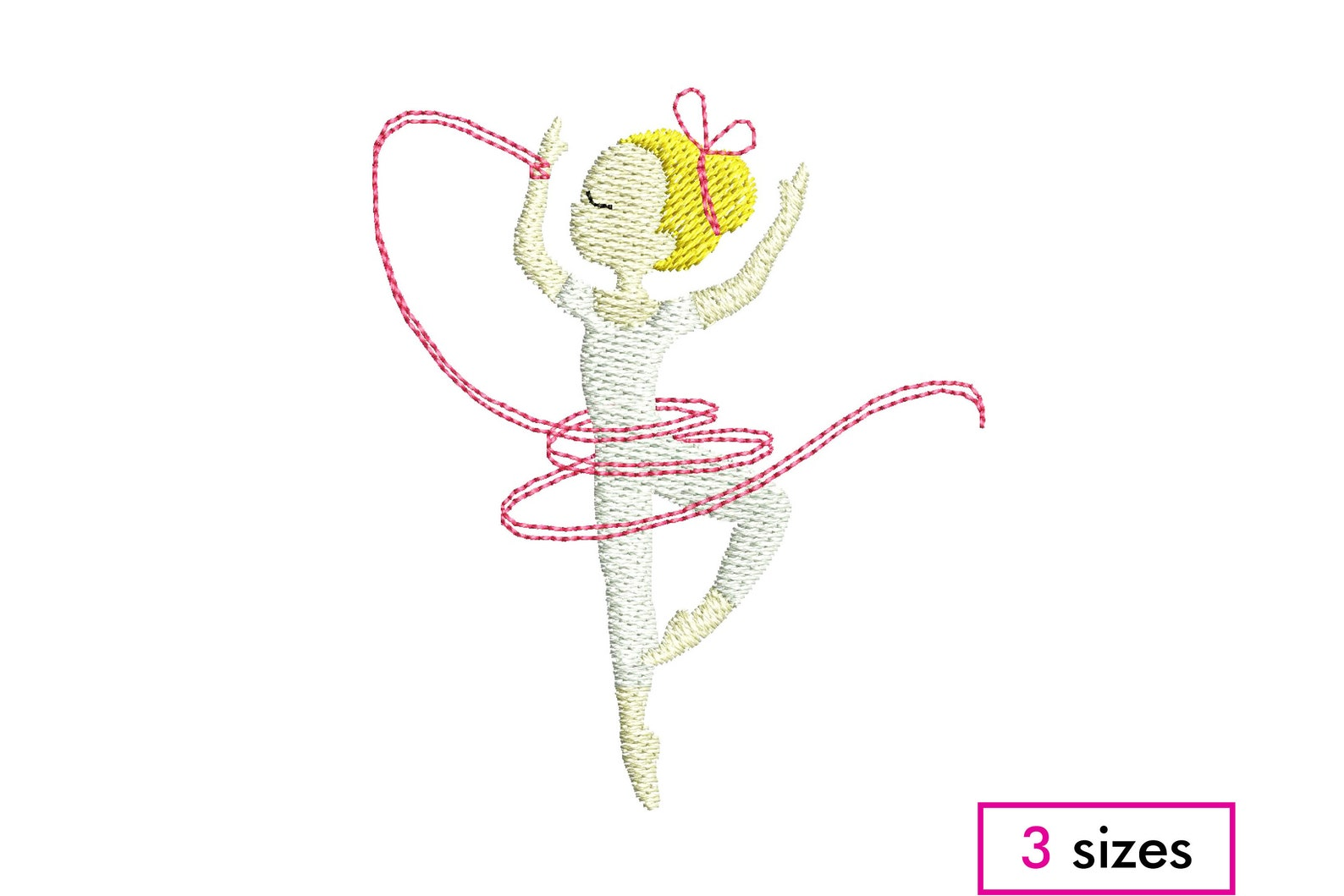 mini ballerina dancer machine embroidery design – ballerina girl dance ribbon ballet tutu – girl dance embroidery - instant down