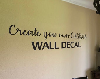 Wall Quotes Etsy