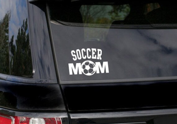 Nice Soccer Mom Decal Sports Window Decal Sports Decal For Mom | Etsy