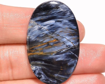 For Making Jewelry AAA Quality Pietersite 30.5 Ct 37X24X4 mm Rectangle Oval Shape Cabochon Pietersite Loose Gemstone Natural Pietersite