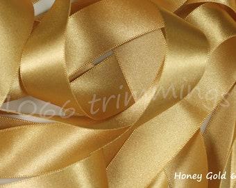 10mm 15mm 25mm 35mm /& 50mm Berisfords Rose Gold Satin Ribbon 9792 New Shade