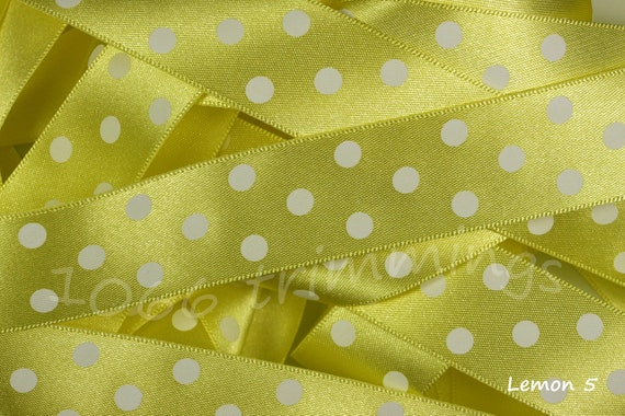 Home & Garden Berisfords Meadow Green Dotty Satin Ribbon 10mm X 20 Metres Fine Quality Other Baking Accessories